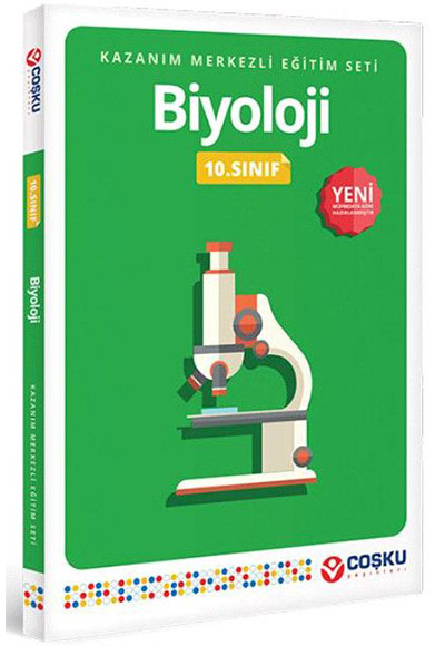 10 Sınıf Biyoloji Konu Anlatımlı Coşku Yayınları 9786051161273