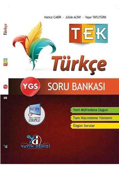 Ygs Türkçe Tek Soru Bankası Yayın Denizi Yayınları 9786059392945