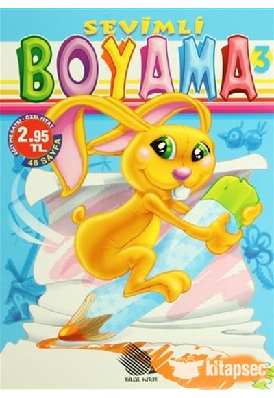 Sevimli Boyama 3 Kirpi Yayıncılık 9789944453776