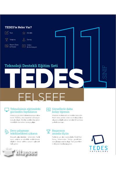 11 Sınıf Felsefe Tedes Yayınları 9786051613147