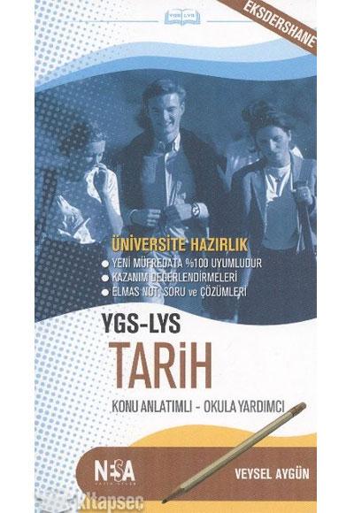 Ygs Lys Tarih Konu Anlatımlı Cep Kitabı Nesa Yayınları 9786055423452