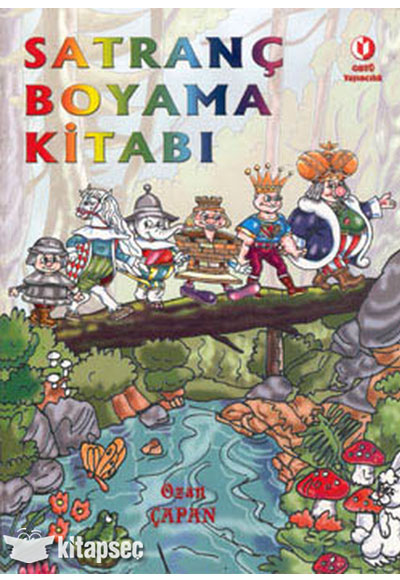 Satranç Boyama Kitabı Odtü Yayıncılık 9789757064701