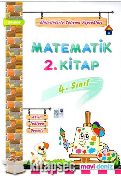 4 Sınıf Matematik Etkinliklerle çalışma Yaprakları 2 Kitap Mavi
